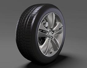 3D model Opel Combo Tour wheel 2017