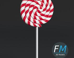 3D Round lollipop