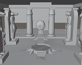 3D print model Temple Mumm-Ra God Statues