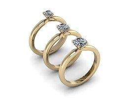 Jewelry Rings NINE RINGS 002 3D printable model