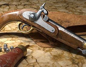 Colt G Mordant 1846 3D model