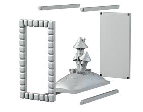 Mushroom Castle 3D printable model