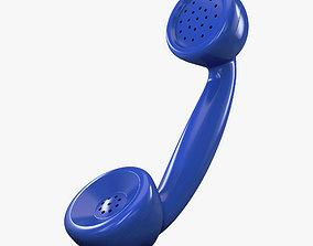 Retro Telephone Handset v 1 3D model
