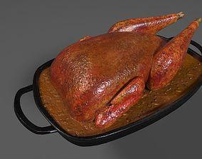 3D Roasted Pheasant in Gravy