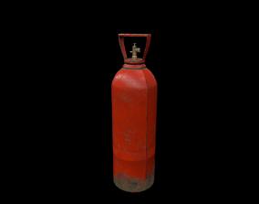 PBR Gas tank 3D model