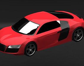 Audi R8 3D model