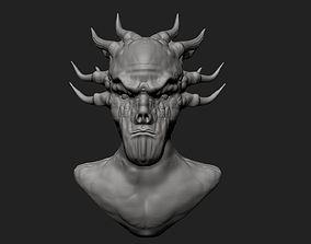 Daemon Bust 3D printable model