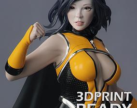 3D printable model Female Superhero
