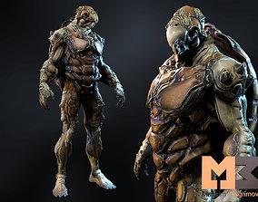 3D asset Monster Underwater 02