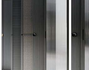 Waredrobe doors collection 3D