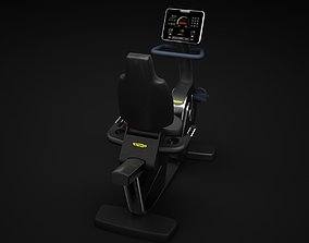 Recline Cardio Machine 3D model