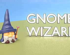 3D model Gnome Wizard Character - Funny Old Wiseman