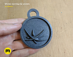 3D print model Witcher morning star amulets