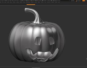 3D printable model halloween pumpkin 08