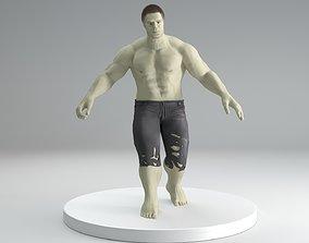 hulk avengers 3D model