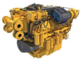 Boat Engine 3D