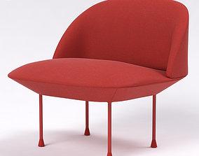 Muuto Oslo Chair 3D