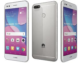 Huawei P9 Lite MiniY6 Pro Silver 3D model