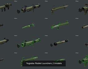 Yugoslav Rocket Launchers 3D model