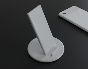 hobby-diy phone stand like pixel stand 3d printable