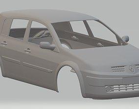 Renault Megane Printable Body Car