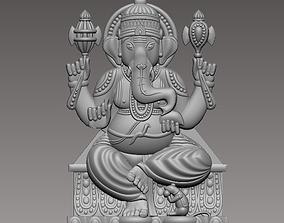 ganesha god 3D printable model