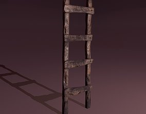 3D model Old Dirty Ladder