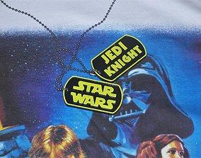 Star Wars Dog Tags 3D printable model