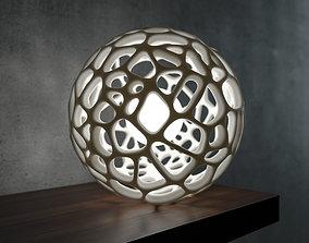 3D printable model Generative design Voronoi sphere high 1