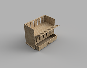 3D printable model Baby Cot or Crib