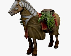 3D model Monk Horse