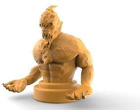3D printable model Demon bust 1