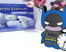 3D printable model Batman Clock