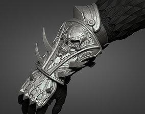 3dprinting Lich King armor - arm 3D printable model