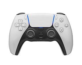 realtime DualSense Controller Playstation 5 3D model
