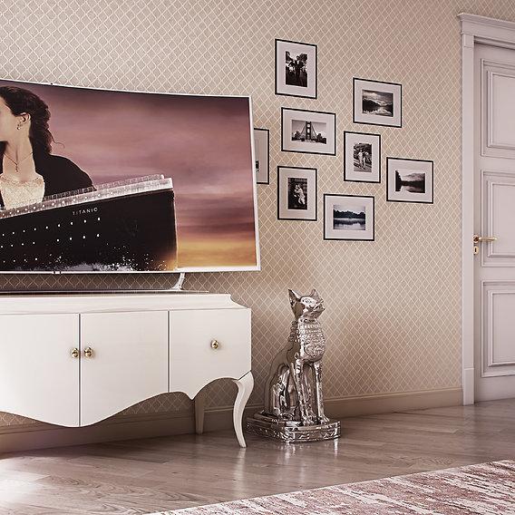 Bedroom in Sydney for arabic singer by 3DAG