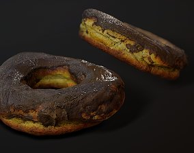 Donut photogrammetry - Game ready asset VR / AR ready