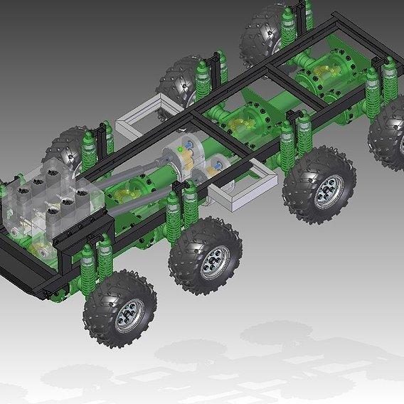 Vary Powerful 8 x 8 Scale Tatra Design