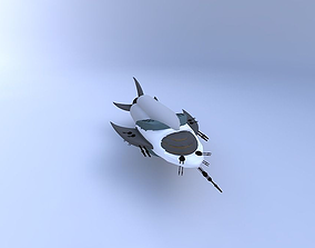 sciencefiction Spaceship 3D model