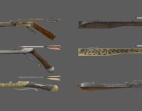 weapon crossbow 3D asset
