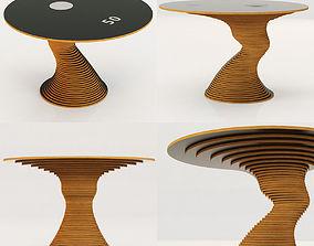 3D model Restoration Hardware Stack 50 Table