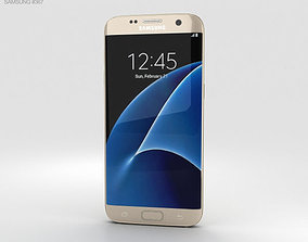 3D model Samsung Galaxy S7 Edge Gold sm-g930r4