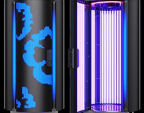 3D model Vertical tanning bed solarium Sunflower V50