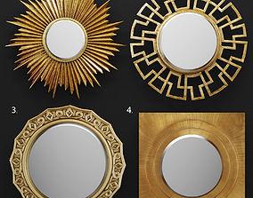 Set mirrors 3D 5