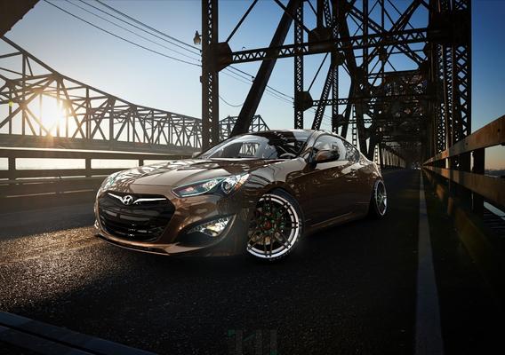 Hyundai Genesis Coupe 3.8