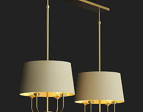 3D model LUR DOUBLE CHANDELIER