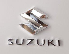 Suzuki Emblem 3D model