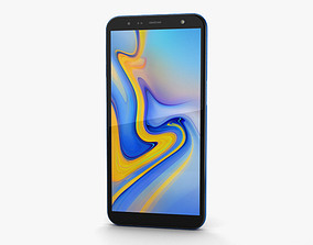 3D Samsung Galaxy J6 Plus Blue