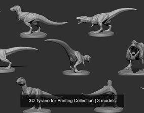 3D Tyrano for Printing Collection