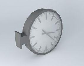 3D model URBAN clock houses the world